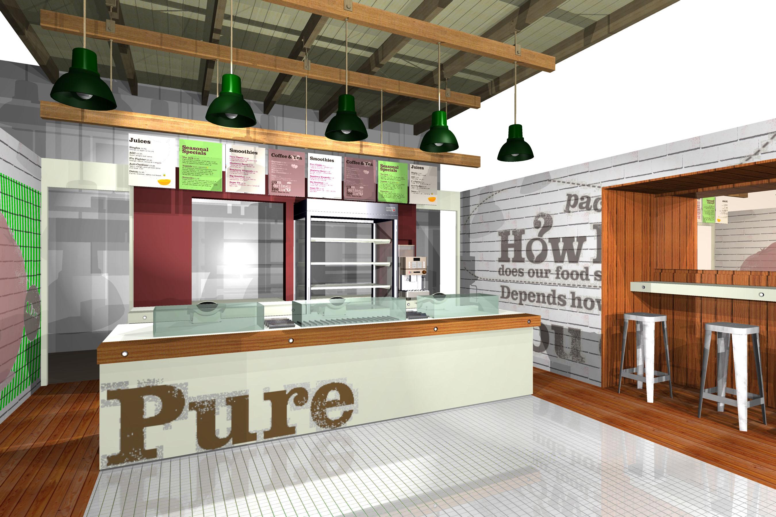 Fast Food Boutique Take Away Renders Imaginarium